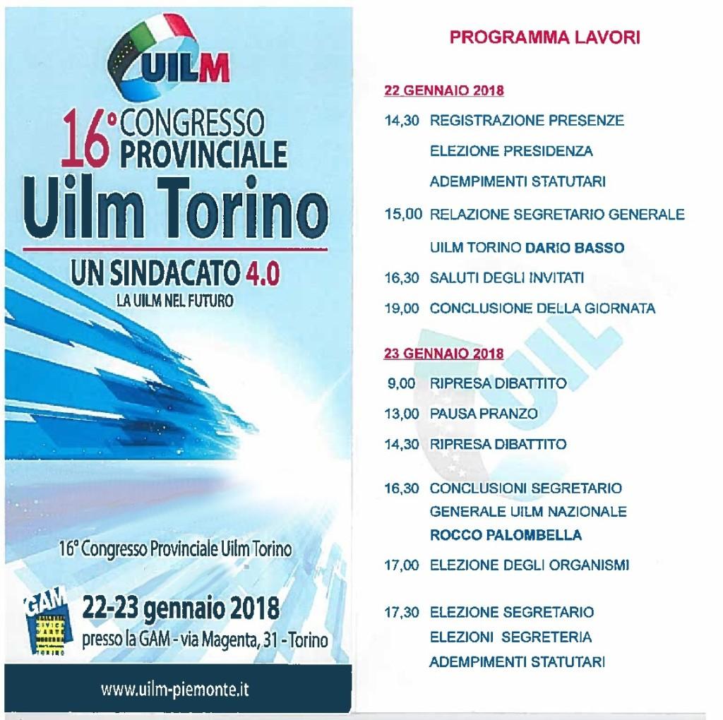 INVITO CONGRESSO Provinciale Uilm Torino -001